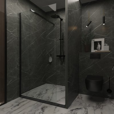 SK Interiors | Design project private spa area, Moscow, 110 m²